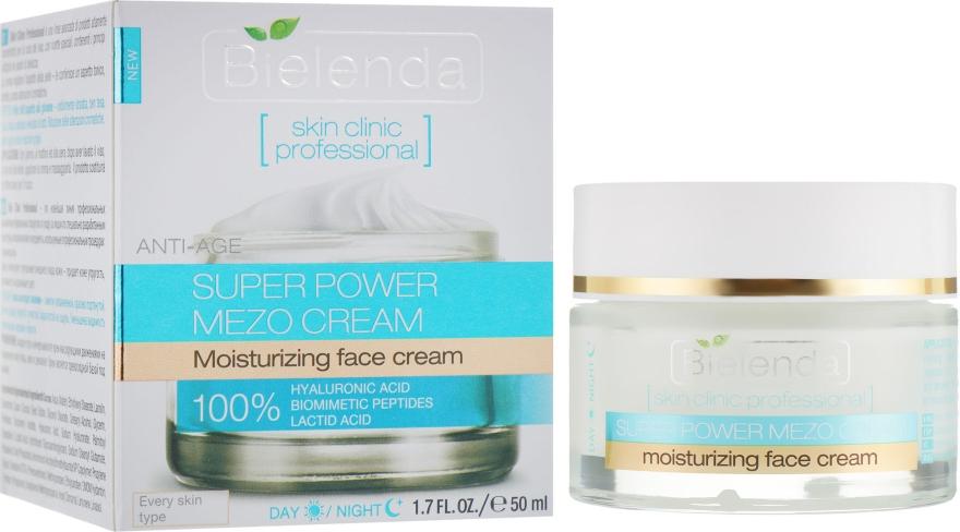Активный увлажняющий крем дневной/ночной - Bielenda Skin Clinic Professional Mezo Anti-age