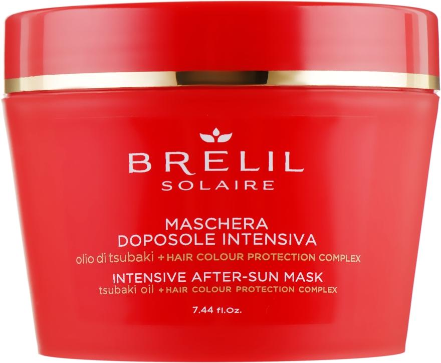 Маска для волос после пребывания на солнце - Brelil Solaire Intensive After-Sun Mask