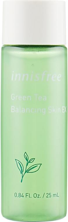 Балансирующий тоник с экстрактом зеленого чая - Innisfree Green Tea Balancing Skin Tonique (тестер)