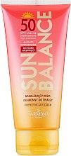 Духи, Парфюмерия, косметика Солнцезащитный крем для лица SPF 50 - Farmona Sun Balance Cream