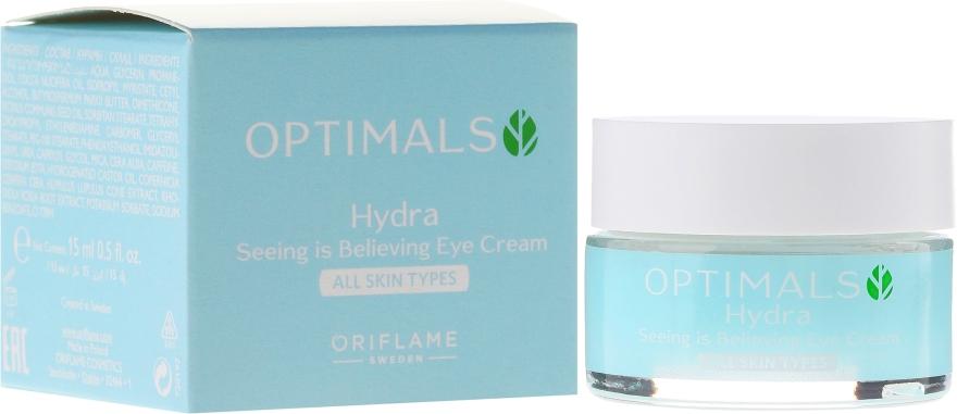 Увлажняющий крем для век для всех типов кожи - Oriflame Optimals Hydra