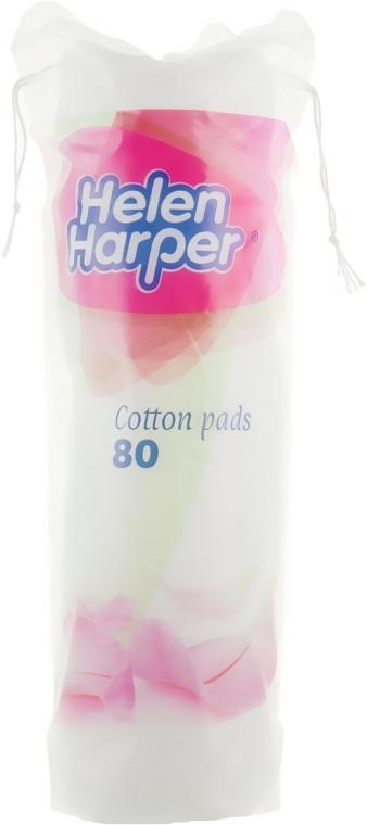 Ватные диски с тиснением Cotton Pads, 80 шт - Helen Harper