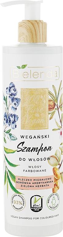 Шампунь для окрашенных волос - Bielinda 100% Pure Vegan Shampoo