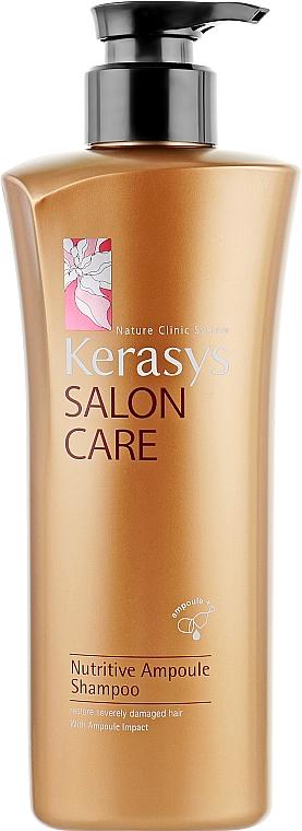 Шампунь питательный - KeraSys Salon Care Nutritive Ampoule Shampoo