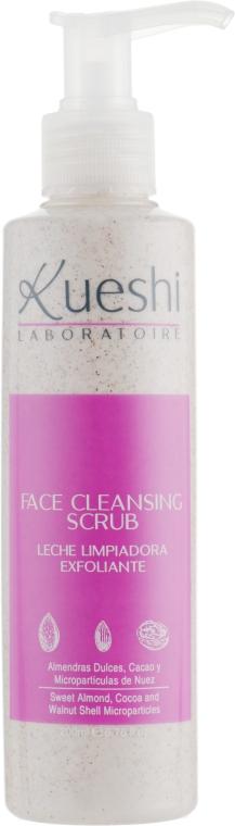 Молочко-скраб антивозрастное для лица - Kueshi Silk Cleansing Scrub Leche Facial Exfoliante