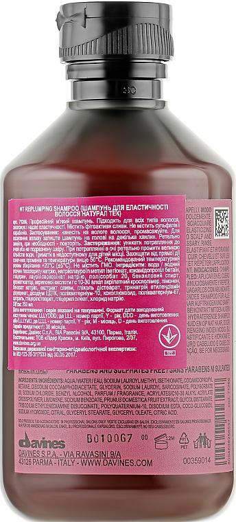 Ущільнюючий шампунь - Davines Replumping Shampoo — фото N4