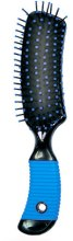 Духи, Парфюмерия, косметика Расческа для ежедневного ухода Small, прямоугольная, синяя - Ласковая