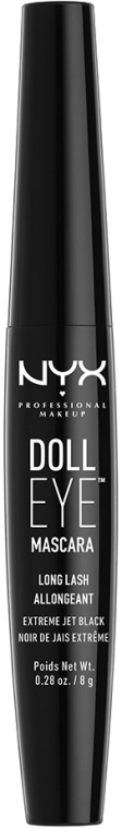 Удлиняющая тушь для ресниц - NYX Professional Makeup Doll Eye Mascara Long Lash