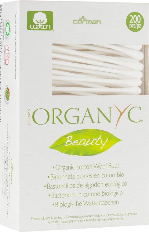 Гигиенические ватные палочки - Corman Organyc Beauty Cotton Buds
