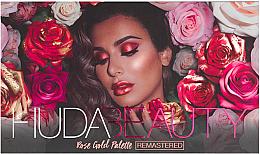 Духи, Парфюмерия, косметика Палетка теней для век - Huda Beauty Rose Gold Palette – Remastered