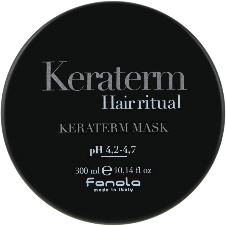 Маска для реконструкции поврежденных волос - Fanola Keraterm Mask