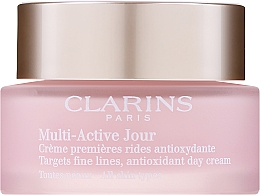 Духи, Парфюмерия, косметика Дневной крем - Clarins Multi-Active Day Cream For All Skin Types