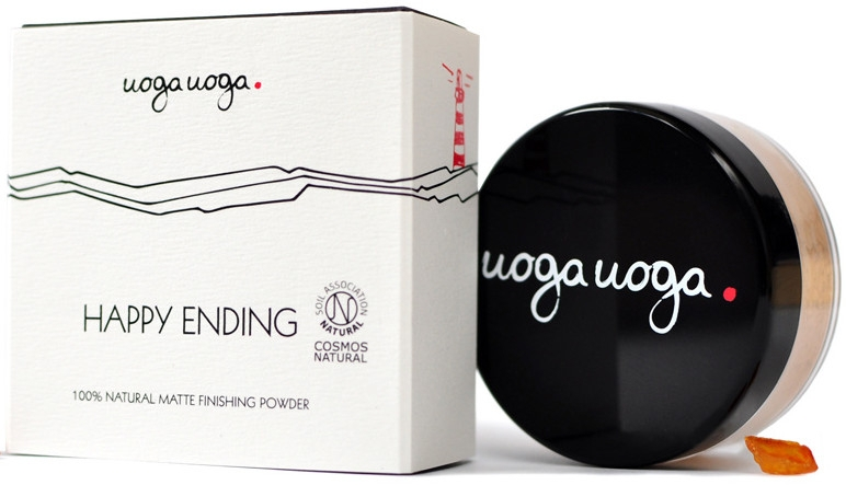 Матирующая пудра для лица - Uoga Uoga Happy Ending Finishing Powder