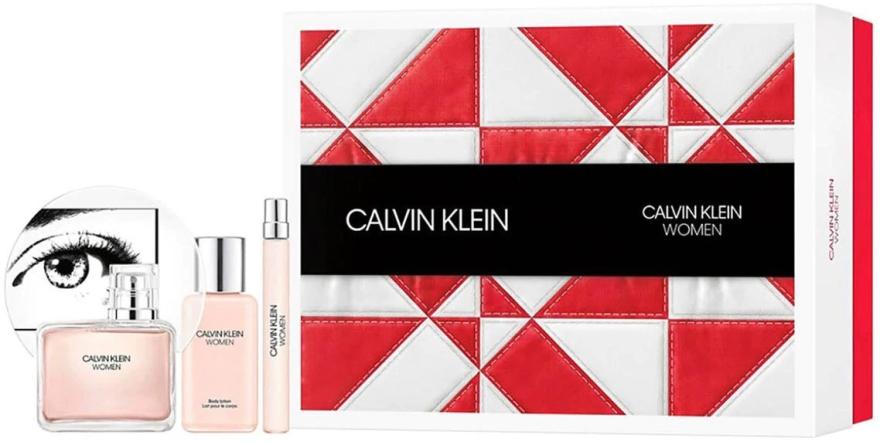 Calvin Klein Women - Набор (edp/100ml + b/lot/100ml + edp/10ml)