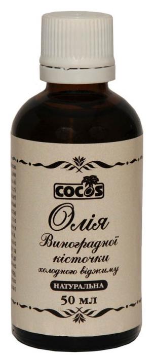 Масло виноградной косточки холодного отжима - Cocos Hair And Body Oil