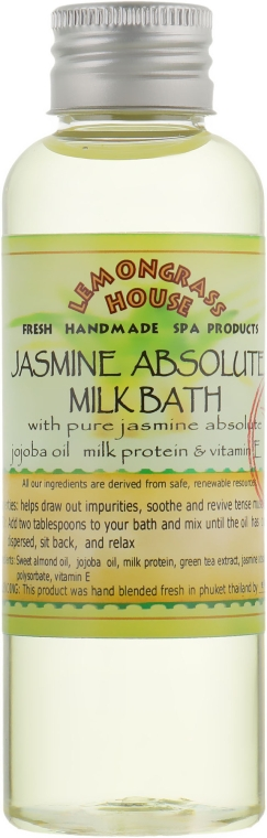 "Молочная ванна ""Жасмин"" - Lemongrass House Jasmine Absolute Milk Bath"