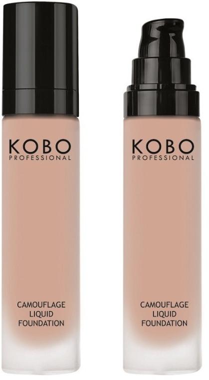 Тональный крем для лица - Kobo Professional Camouflage Liquid Foundation