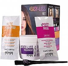 Духи, Парфюмерия, косметика Набор - Echosline Easy-Liss Kit (shm/15ml + mask/15ml + treatment/100ml)