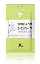 Духи, Парфюмерия, косметика Успокаивающая маска - Leaders Tea Tree Relaxing Skin Renewal Mask