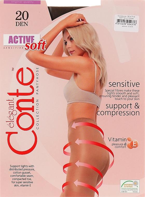 "Колготки ""Active Soft"" 20 Den, shade - Conte"