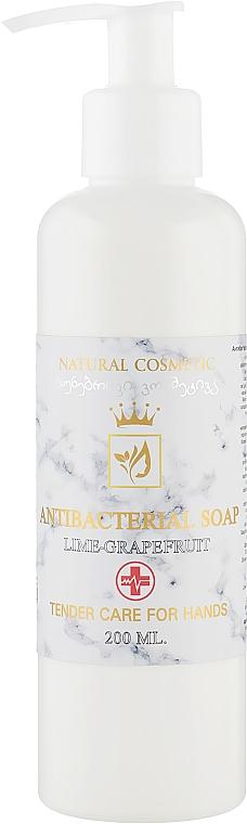"""Натуральное антибактериальное жидкое мыло """"Лайм-грейпфрут"""" - Enjoy & Joy Enjoy Eco Antibacterial Soap"""