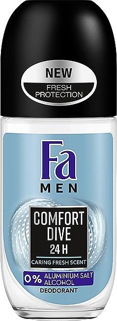 Роликовый дезодорант - FA Men Comfort Dive Deodorant