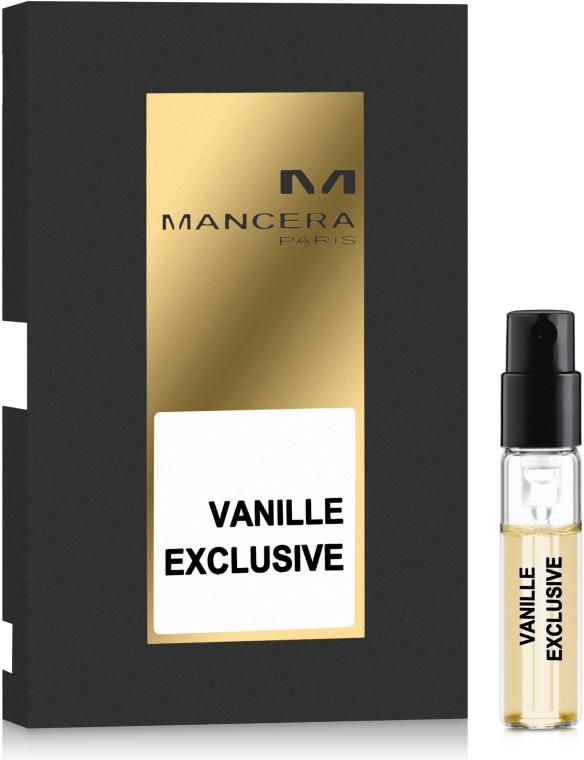 Mancera Vanille Exclusive - Парфюмированная вода (пробник)