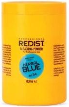 Духи, Парфюмерия, косметика Порошок для осветления волос на растительной основе, голубой - Redist Professional Bleaching Powder