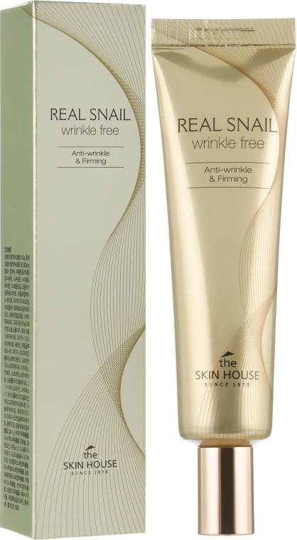 Крем от морщин с экстрактом улитки - The Skin House Real Snail Wrinkle Free