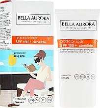 Духи, Парфюмерия, косметика Солнцезащитный крем - Bella Aurora Solar Protector Sensible SPF100+