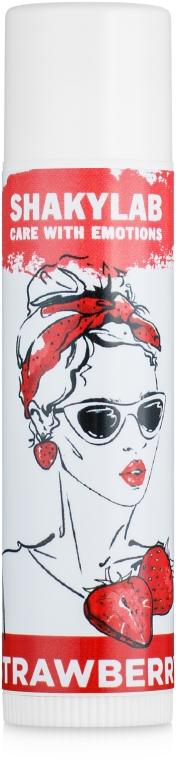 Бальзам для губ Strawberry - SHAKYLAB Lip Balm