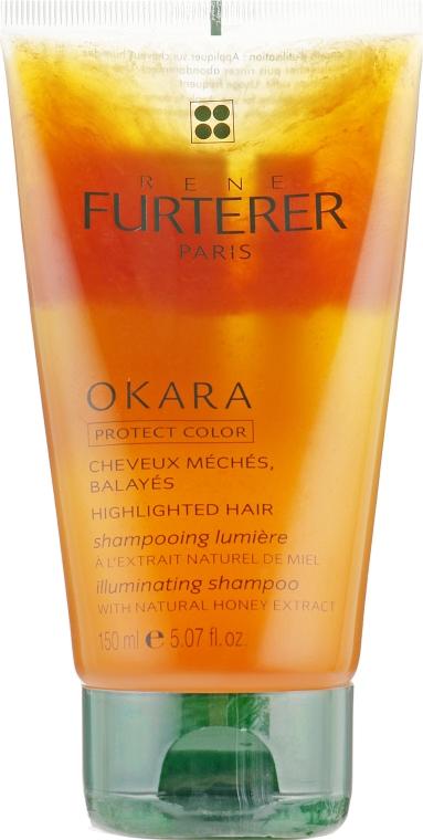 Шампунь для сияния мелированных волос - Rene Furterer Okara Illuminating Light Activating Shampoo