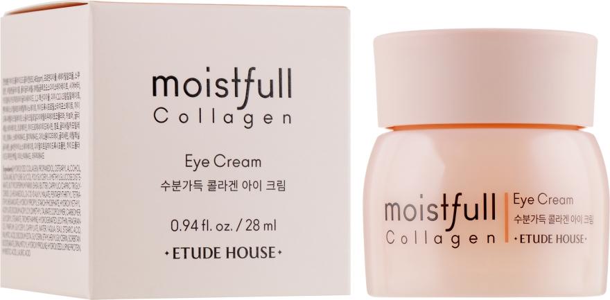 Крем вокруг глаз коллагеновый - Etude House Moistfull Collagen Eye Cream