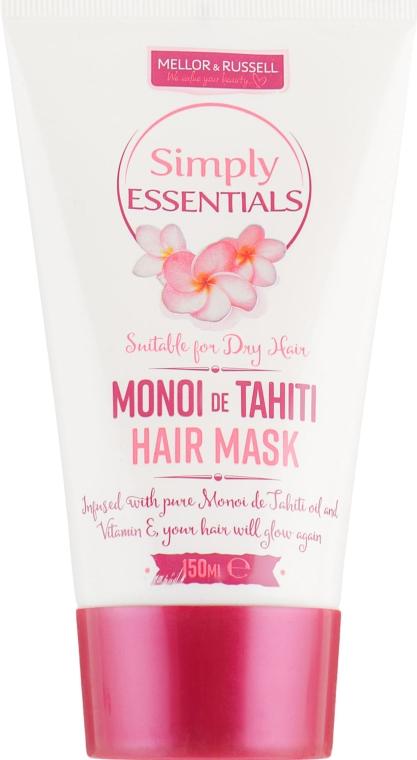 Маска для сухих волос - Mellor & Russell Simply Essentials Monoi de Tahiti Hair Mask