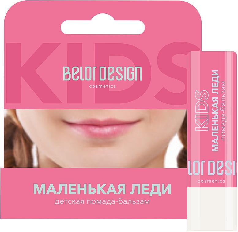 """Детская помада-бальзам для губ """"Маленькая Леди"""" - Belor Design"""