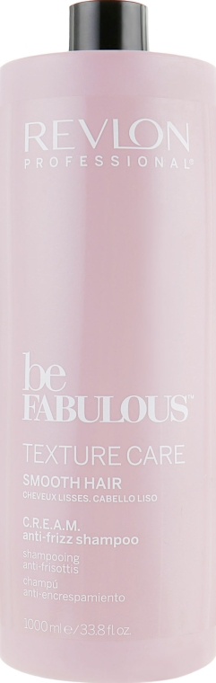 Разглаживающий шампунь для волос - Revlon Professional Be Fabulous Texture Care Smooth Shampoo — фото N4