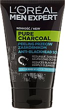 Духи, Парфюмерия, косметика Скраб для лица - Loreal Paris Men Expert Pure Charcoal Scrub