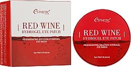 Духи, Парфюмерия, косметика Гидрогелевые патчи для век с экстрактом красного вина - Esthetic House Red Wine Hydrogel Eye Patch