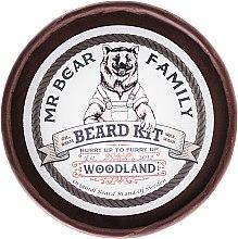 Духи, Парфюмерия, косметика Набор - Mr. Bear Family Woodland (balm/60ml + oil/30ml + wash/250ml + wax/30ml)