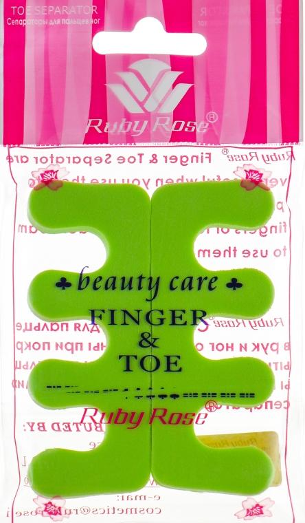 Разделитель для пальцев, НВ-9082, салатовый - Ruby Rose