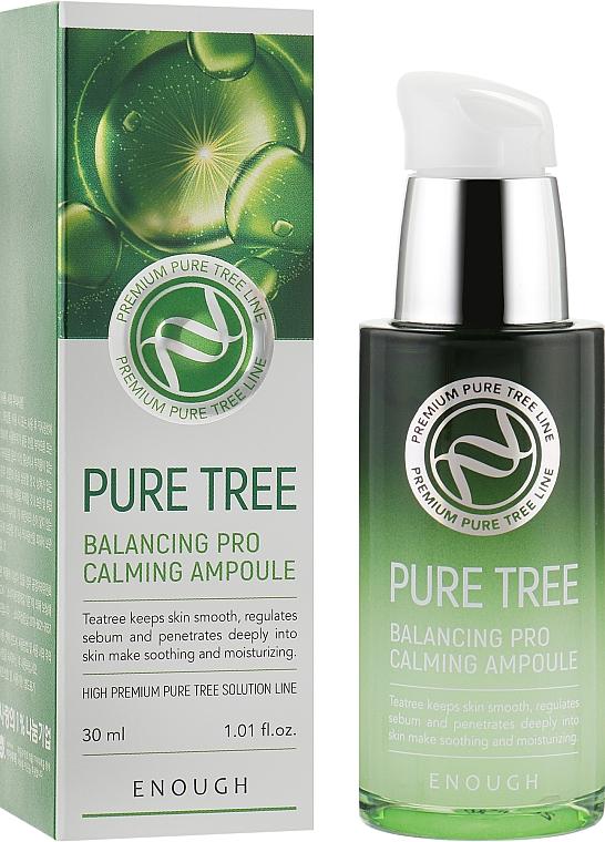 Сыворотка для лица с экстрактом чайного дерева - Enough Pure Tree Balancing Pro Calming Ampoule