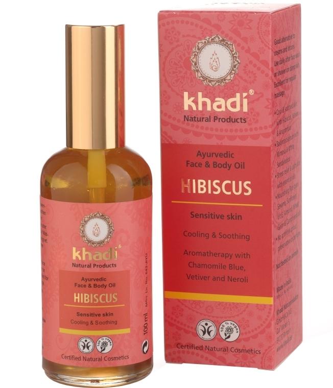 "Масло для лица и тела ""Гибискус"" - Khadi"