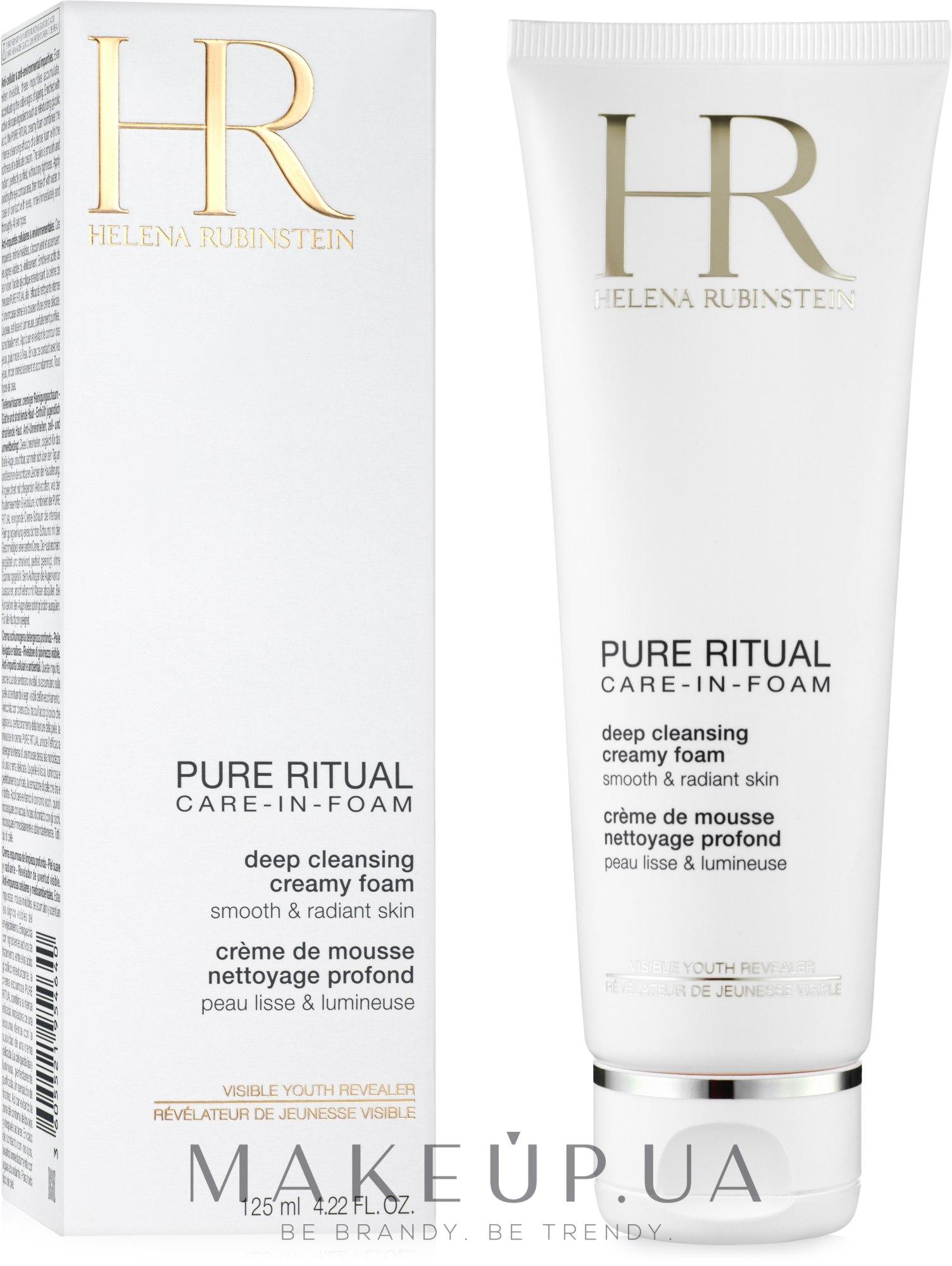 Глубоко очищающая кремовая пенка - Helena Rubinstein Pure Ritual Deep Cleansing Creamy Foam — фото 125ml
