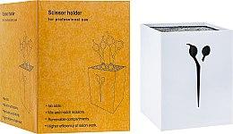 Духи, Парфюмерия, косметика Подставка для парикмахерских ножниц и инструмента, 21122, белая - SPL