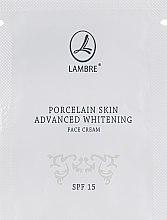 Духи, Парфюмерия, косметика Крем для отбеливания и осветления кожи лица - Lambre Porcelain Skin Face Cream (пробник)