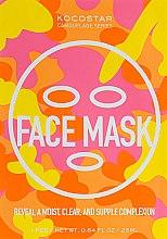 Духи, Парфюмерия, косметика Маска для лица с лифтинг эффектом - Kocostar Camouflage Face Mask