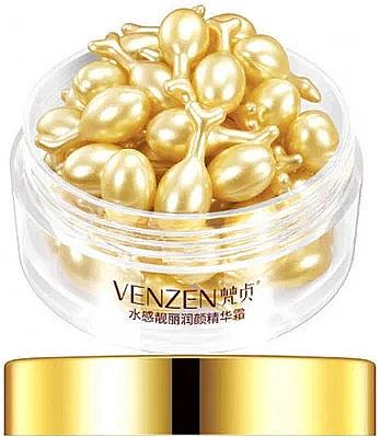 Омолаживающая сыворотка для лица с олигопептидами в капсулах - Venzen Oligo Peptide Moisture Bright Skin