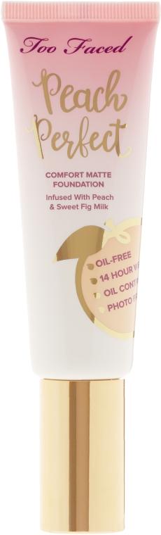 Too Faced Peach Perfect Foundation - Тональный крем: купить по лучшей цене в Украине | Makeup.ua
