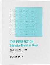 Духи, Парфюмерия, косметика Интенсивно-увлажняющая маска из микрофибры - Royal Skin The Perfection Intensive Moisture Mask