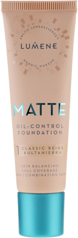 Матирующая тональная основа - Lumene Matte Oil-control Foundation